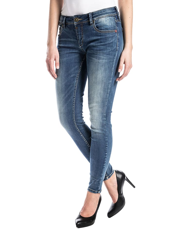 "Timezone Jeans ""Aleena"" - Tight fit - in Blau"