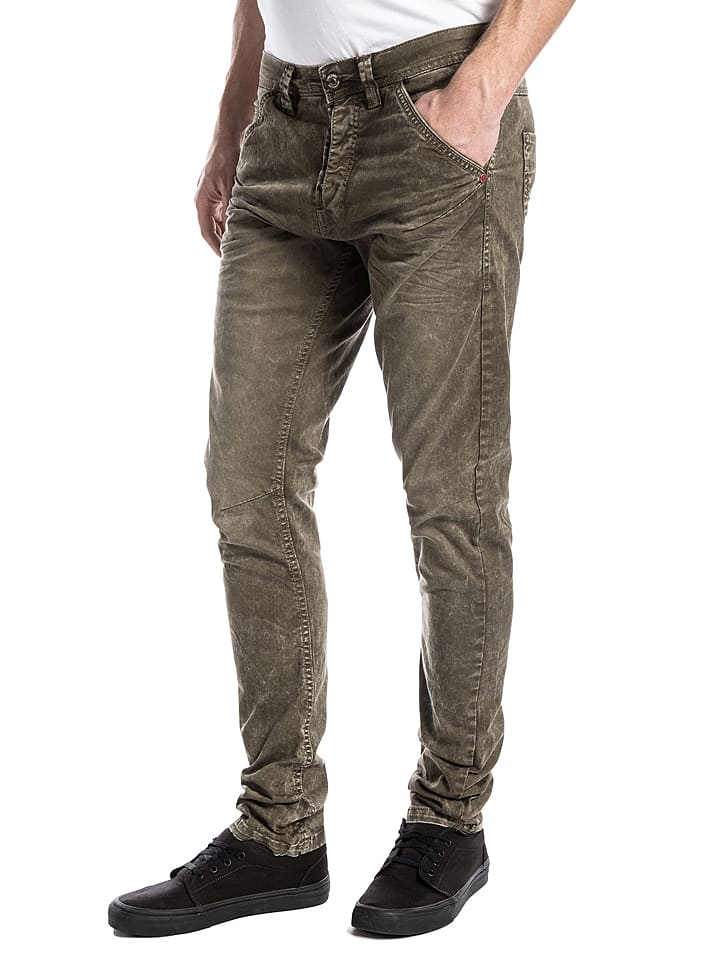 "Timezone Jeans ""Dwayne"" - Slim fit - in Khaki"