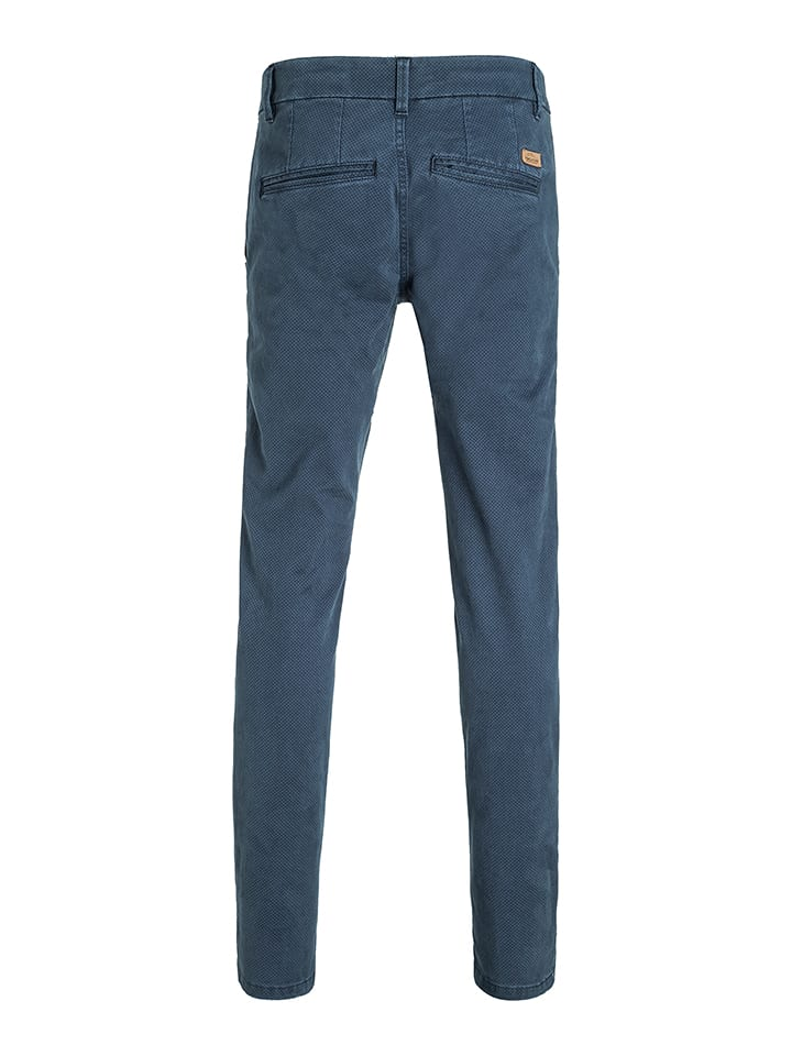 "Timezone Chino ""Janno"" - Slim fit - in Blau"