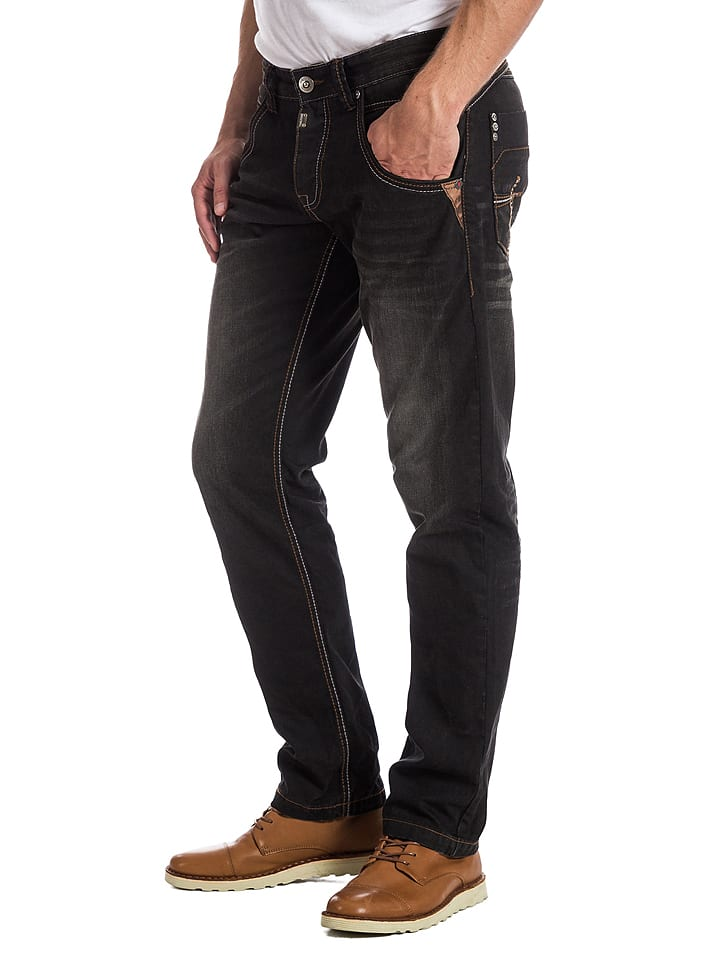 "Timezone Jeans ""Harold"" - Regular fit - in Schwarz"