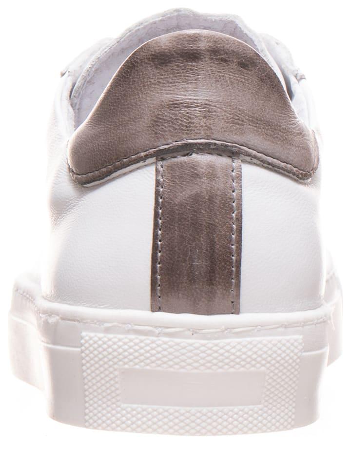Otto Kern Leder-Sneakers in Wei