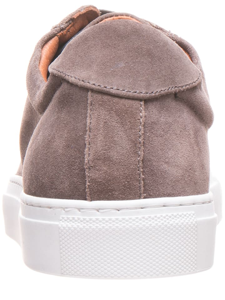 Otto Kern Leder-Sneakers in Taupe