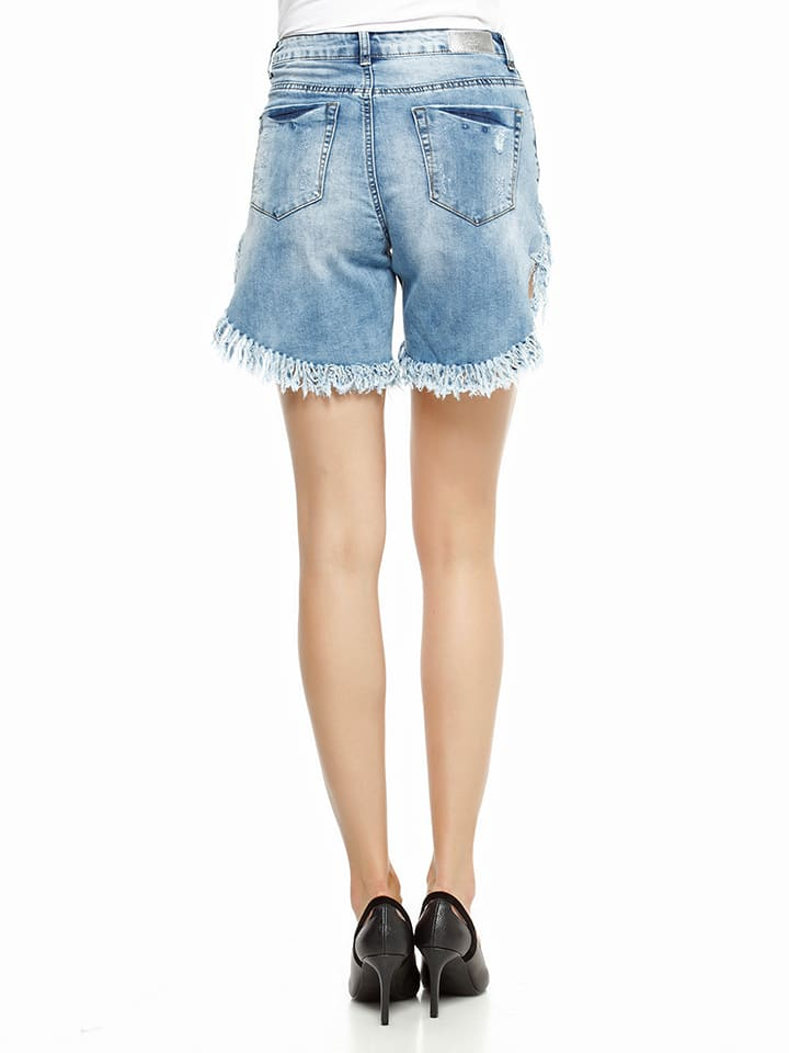 Jos茅fine Shorts in Hellblau