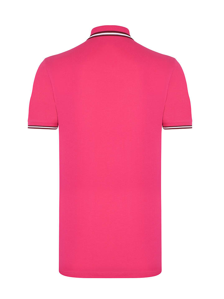 "SIR RAYMOND TAILOR Poloshirt ""Honour"" - Regular fit - in Fuchsia"