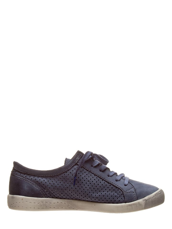 Sneakers Blau Leder Softinos in Softinos Leder 40Xqtw80