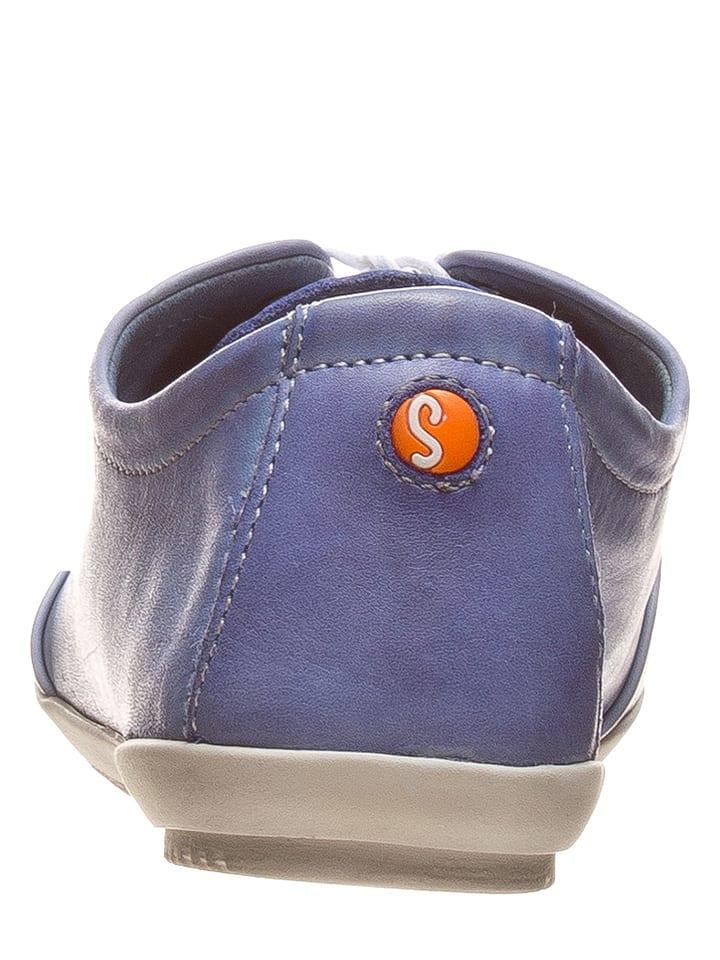 Softinos Leder-Sneakers in Blau