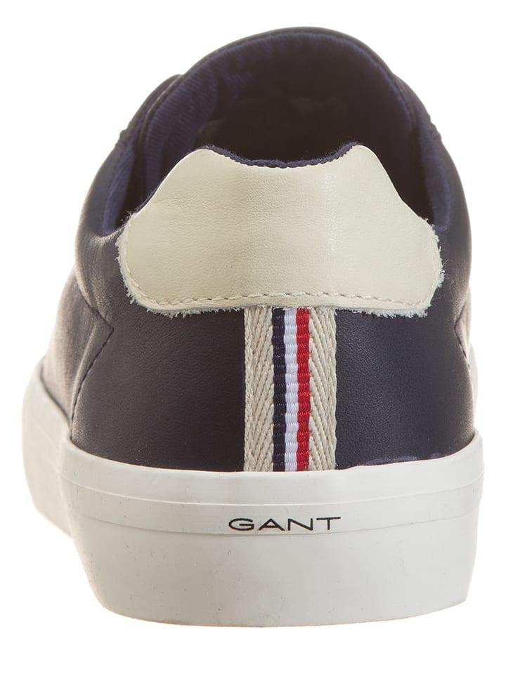 """GANT Footwear Leder-Sneakers """"Mary"""" in Dunkelblau"""