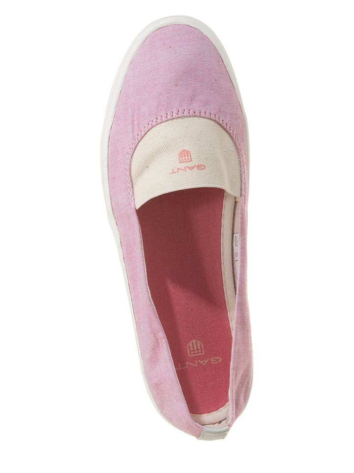"Gant Slipper ""New Haven"" in Pink"
