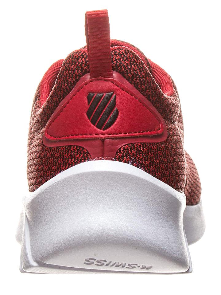 """K-SWISS Sneakers """"Aeronaut"""" in Rot/ Schwarz/ Wei"""