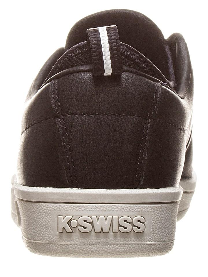 """K-SWISS Leder-Sneakers """"Classic 88 Sport"""" in Schwarz/ Wei"""