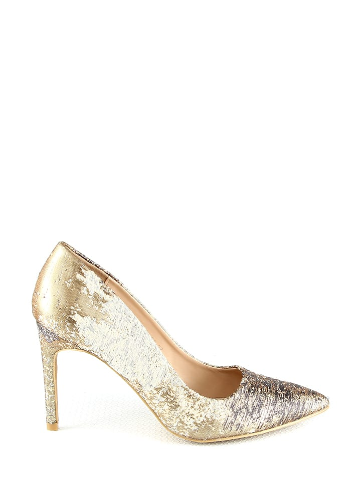 Moow Pumps in Gold