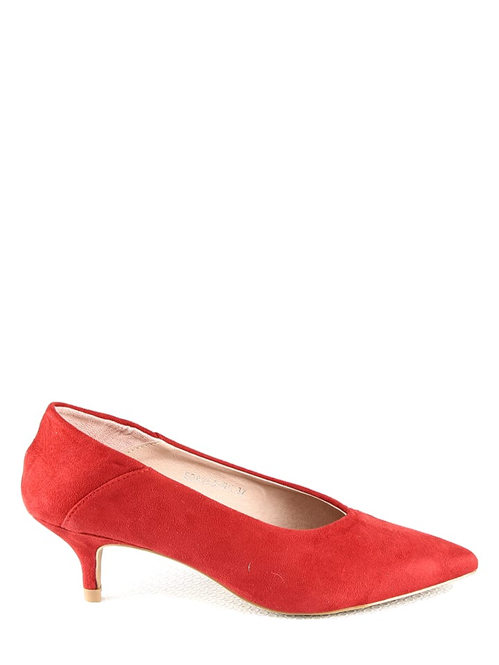 Moow Pumps in Rot