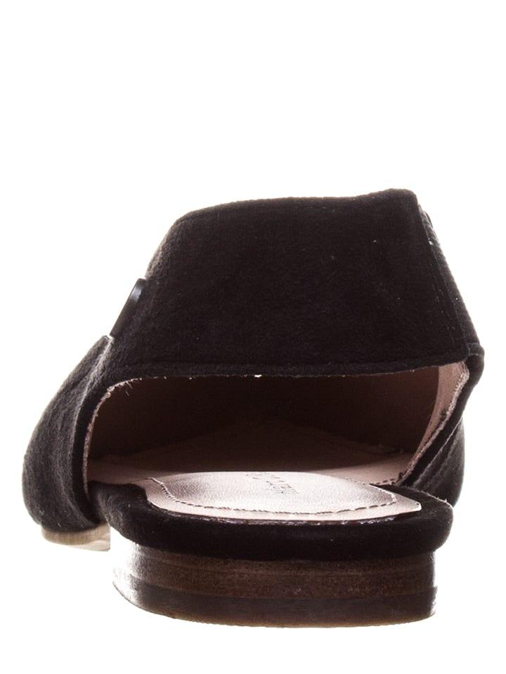 Marc O'Polo Shoes Sling-Ballerinas in Schwarz
