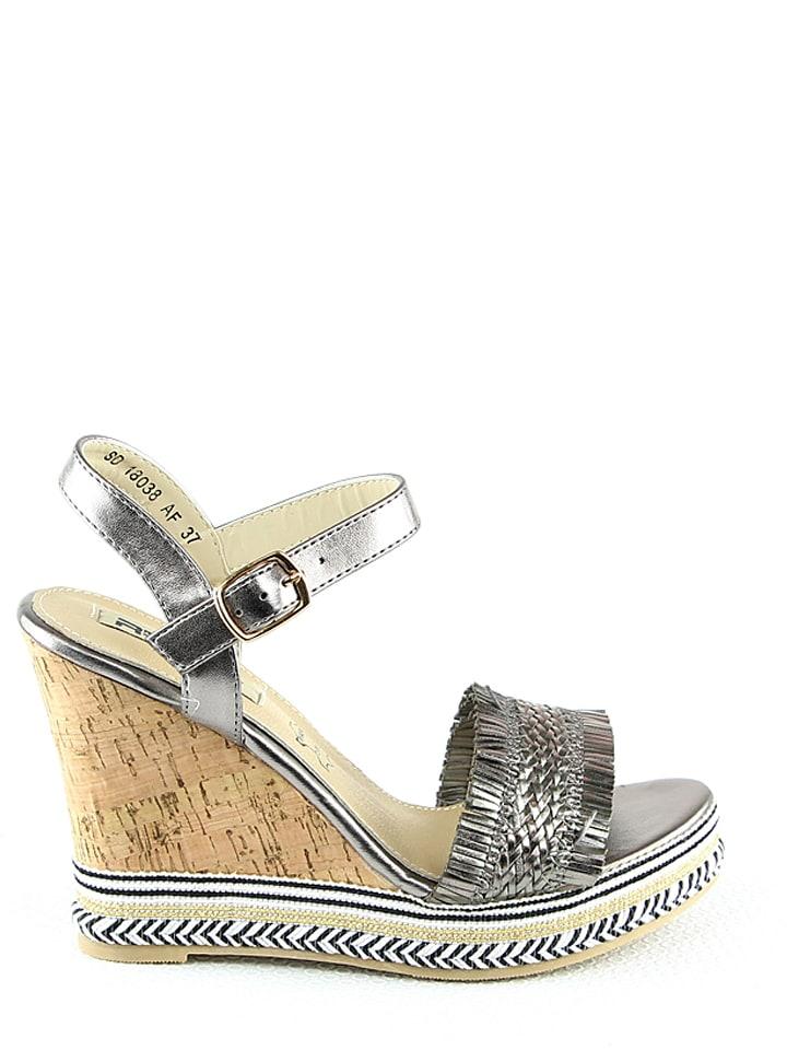 RAXMAX Sandaletten in Silber