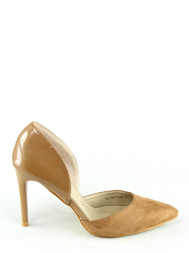 RAXMAX Pumps in Camel