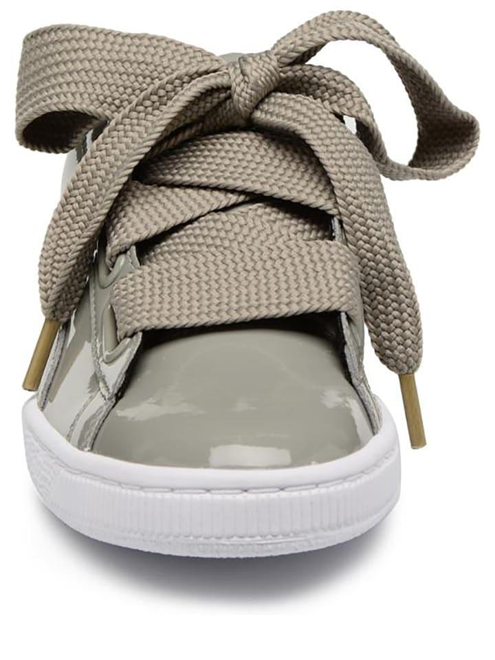 Baskets En Shoes Cuir KakiOutlet Limango Heart Puma tCdhrQs
