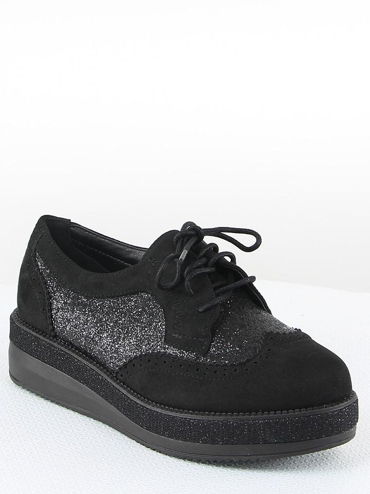 lacets Chaussures limango Outlet à noir La Bottine Souriante qa7wvvI