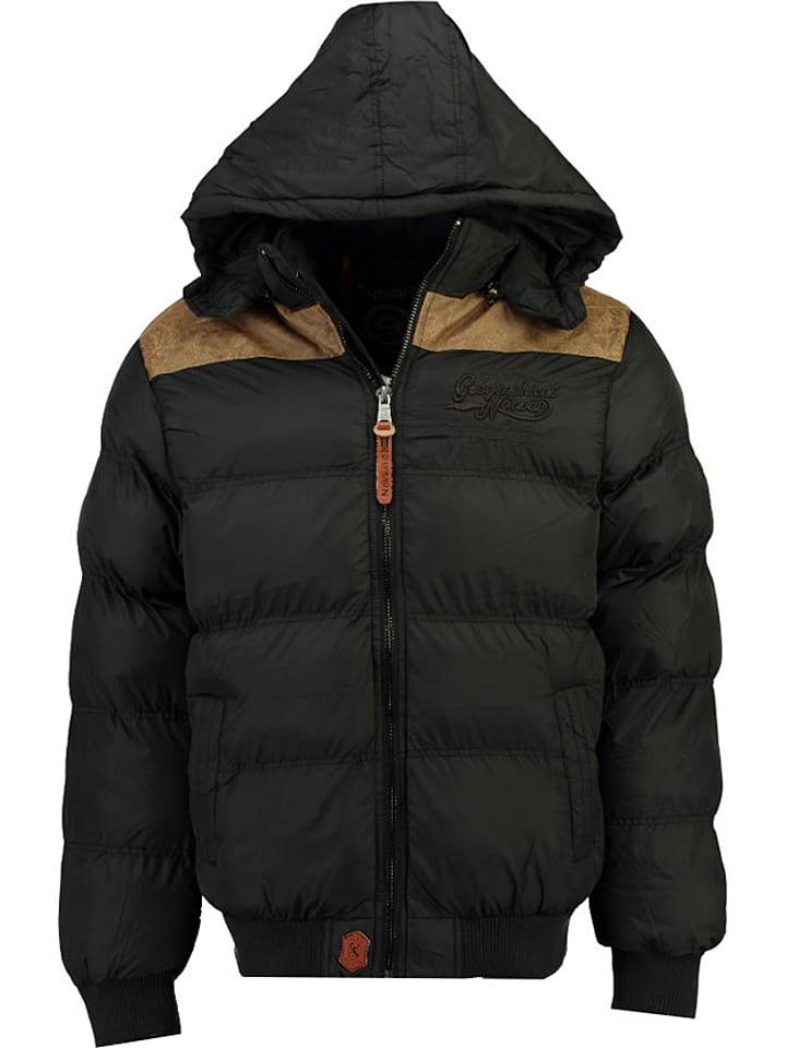 Synthétique Droopy Noir Doudoune Norway Geographical D'hiver 8qEzBZxw