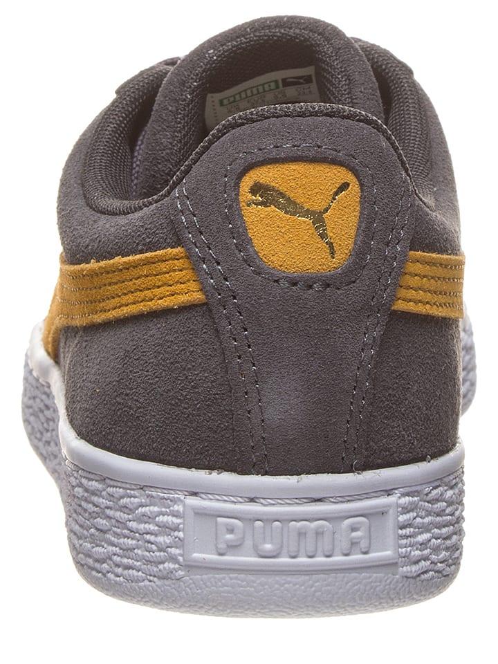 En GrisOutlet Cuir Limango Baskets Classic Suede Puma BxWQdCore