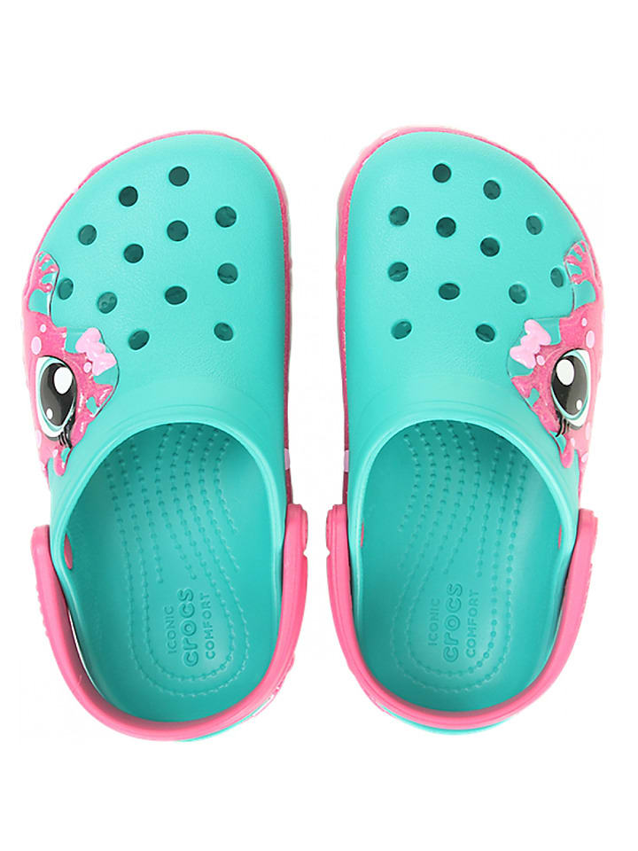 2425 ´´fun Clogs Lab´´ Kinder 00191448204119 Crocs In Größe Türkis36Rabatt fg67vYby