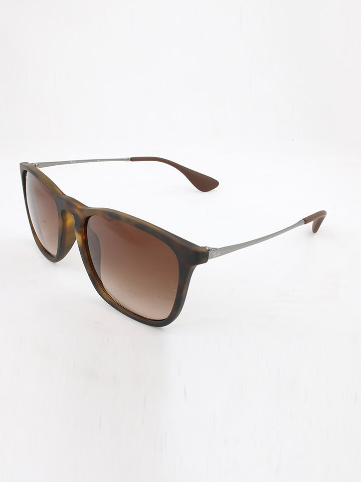 lunette ray ban homme marron