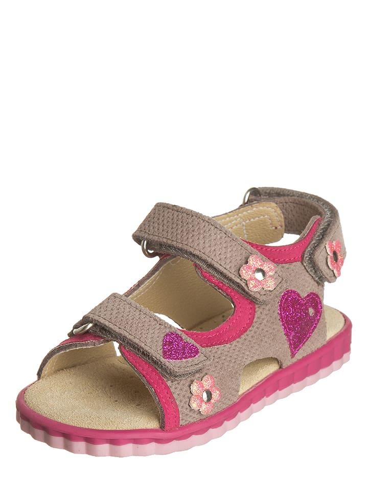 sandalen beige pink go5d56
