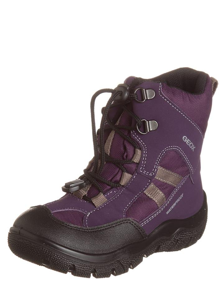 Geox Winterboots Clady lila