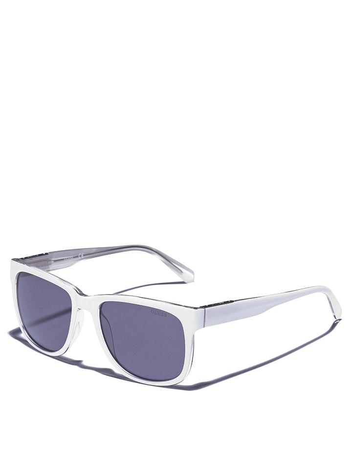 low priced 81c6d f4b30 Damen-Sonnenbrille in Weiß/ Grau