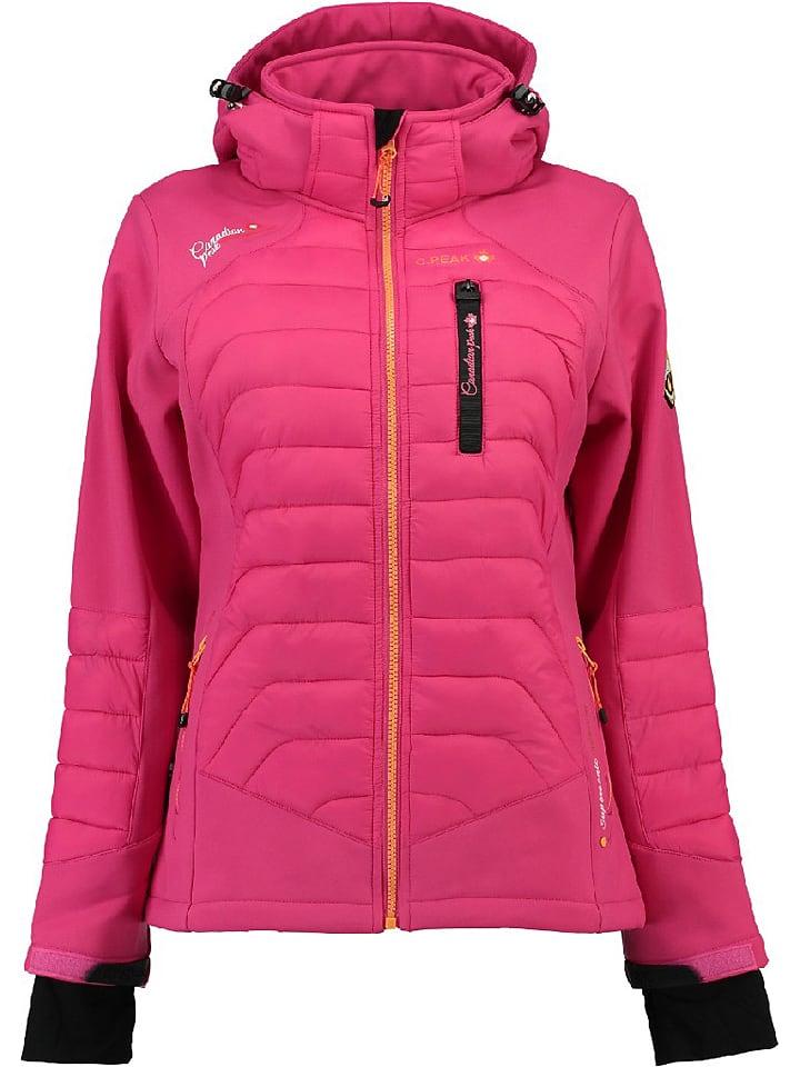 ff79484d8256e3 Canadian Peak Softshelljacke in Pink günstig kaufen | limango Outlet