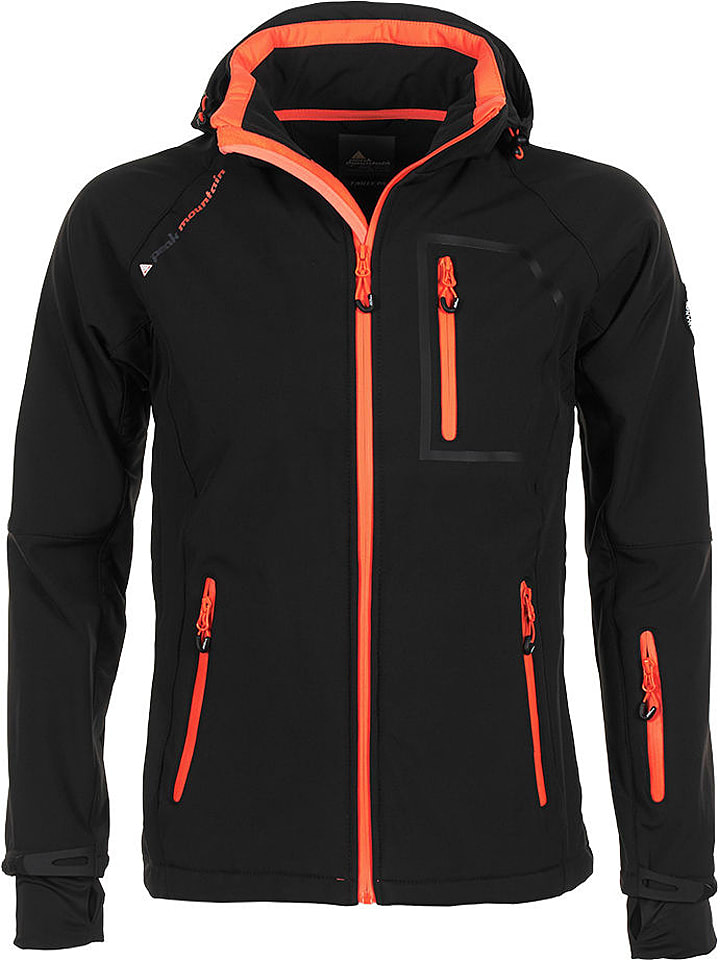 peak mountain softshell jacke
