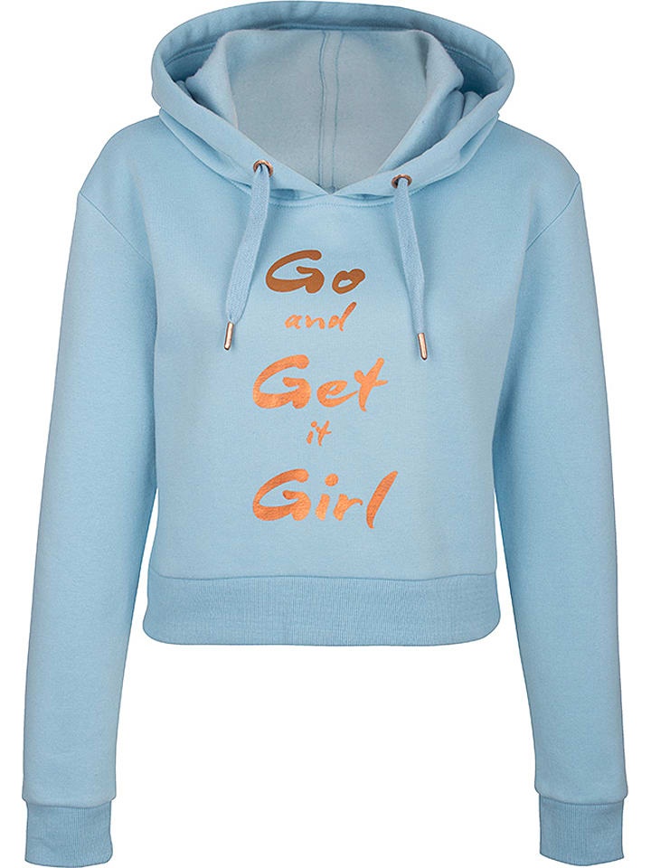 MyMo Sweatshirt in Hellblau günstig kaufen | limango Outlet