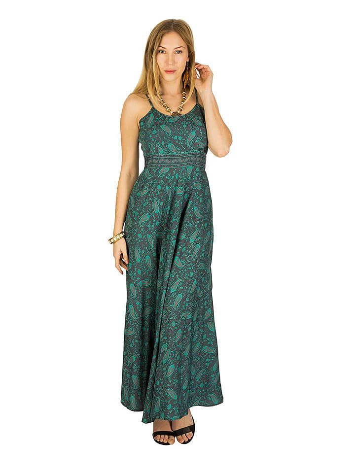 Kleid grau grun