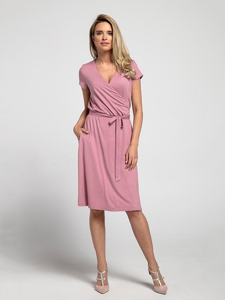 big sale 9ade8 46816 kabelle Knielange Kleider (Midi) in rosa