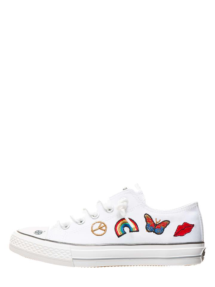Sneakers in Weiß