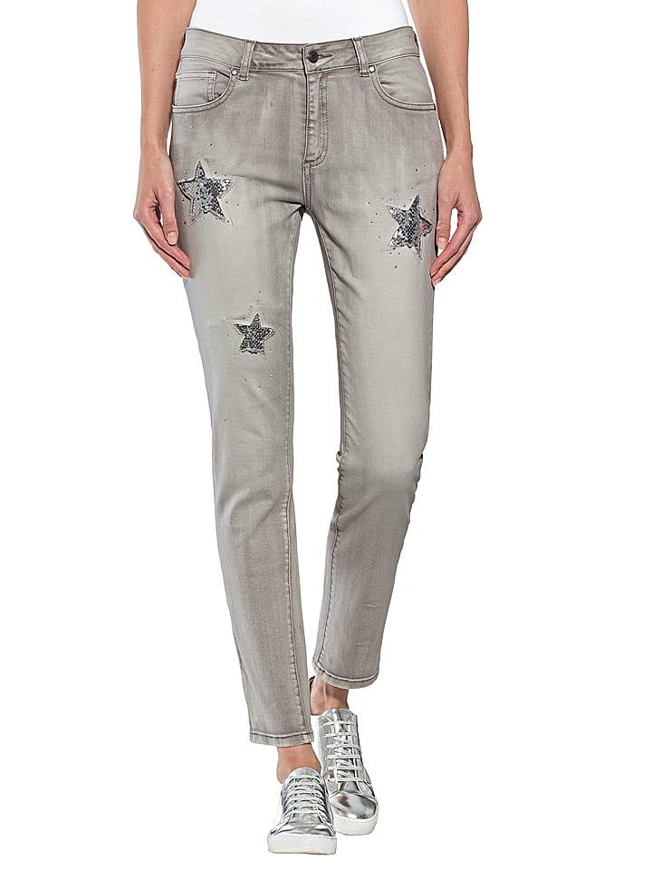 super popular 9a6b1 44c7c Jeans in Grau