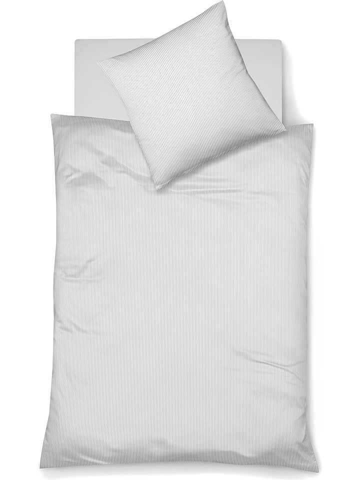 Fleuresse Mako Satin Bettwäsche Set In Weiß Günstig Kaufen Limango