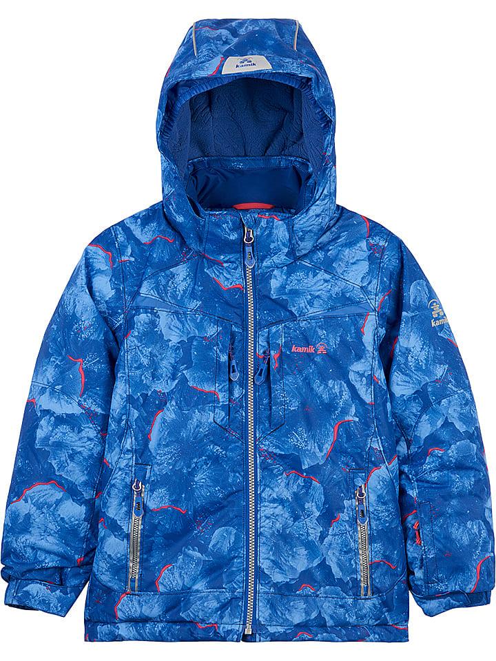 Ski snowboardjas blauw