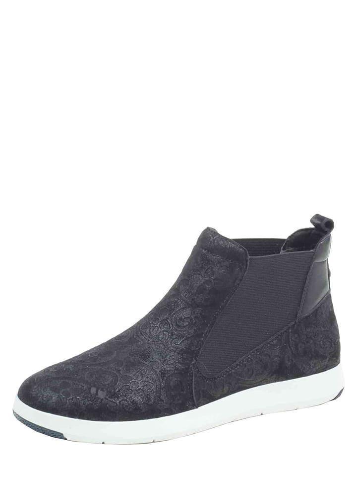 outlet store 10c20 3c7e8 Caprice Leder-Sneakers in Schwarz günstig kaufen | limango ...