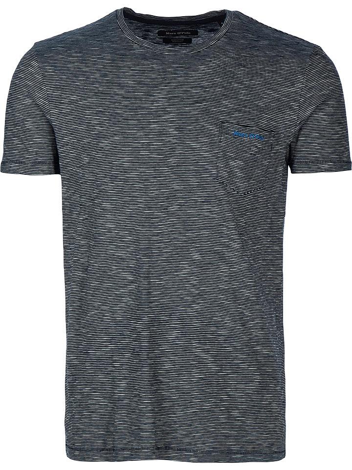 21bb35bfa7 Marc O'Polo Shirt in Dunkelblau/ Weiß günstig kaufen | limango Outlet