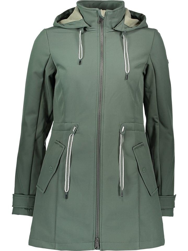 Großhändler Top-Mode neueste Art von Softshelljacke in Grün