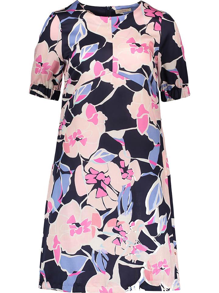 Vera Mont Kleid in Dunkelblau/ Pink günstig kaufen ...