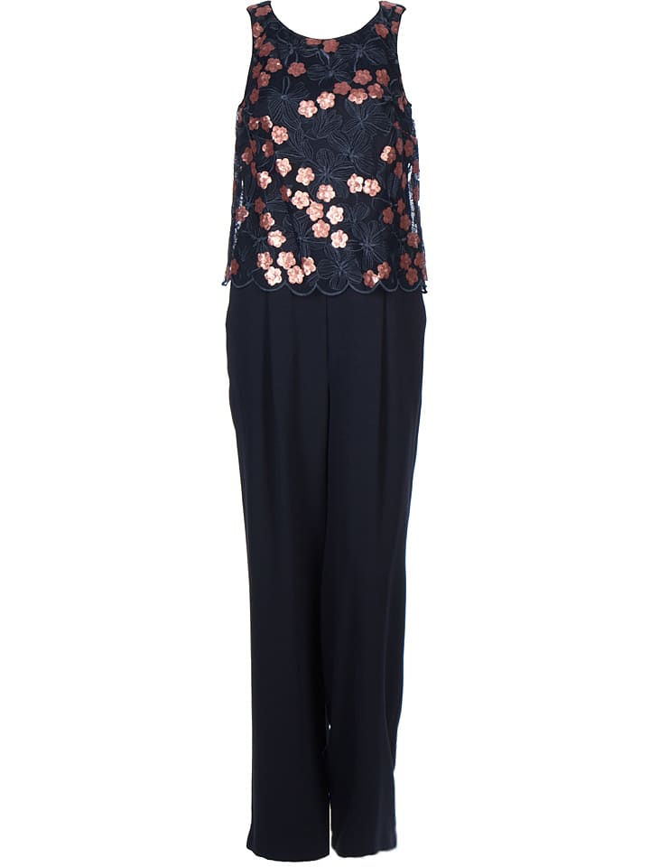 the best size 40 new arrival Jumpsuit in Dunkelblau/ Rosa