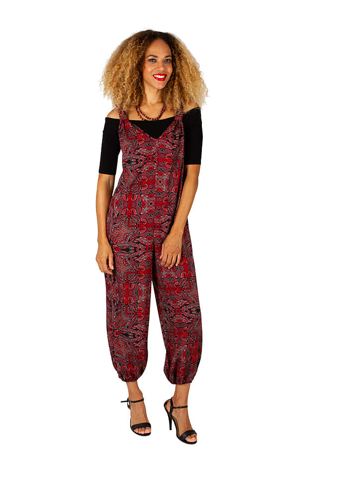 Jumpsuit in Rot