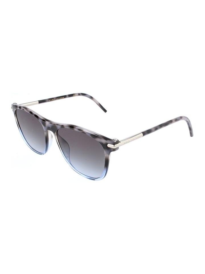 Męskie okulary przeciwsłoneczne w kolorze szarym