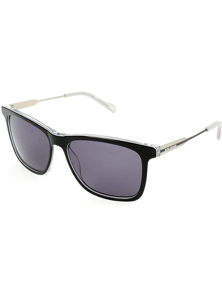 hugo boss herren sonnenbrille in schwarz wei grau. Black Bedroom Furniture Sets. Home Design Ideas