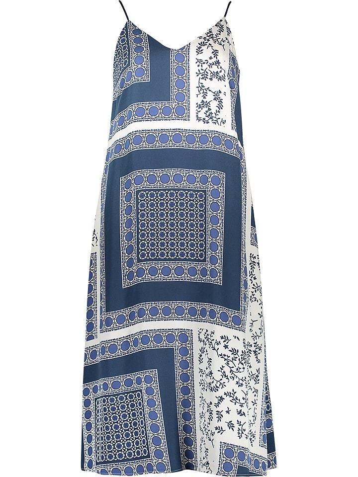more photos c5ed1 69a2f Kleid in Blau/ Weiß