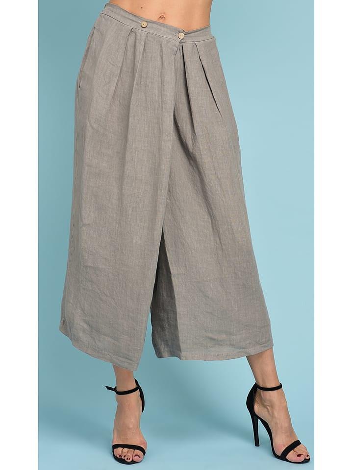 be471826ec5bc Pantalon en lin