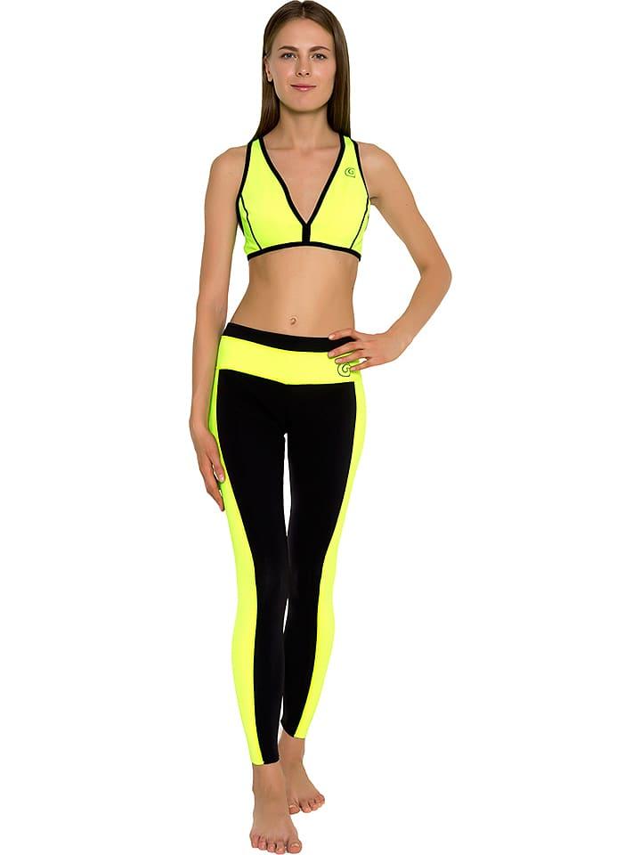 0a8d25a13437b Glide Soul Bikini-Oberteil in Gelb/ Schwarz günstig kaufen | limango ...