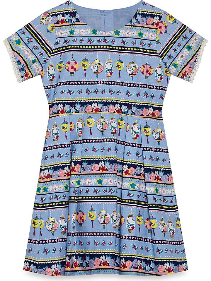 Yumi Girl Kleid in Blau/ Bunt günstig kaufen   limango Outlet