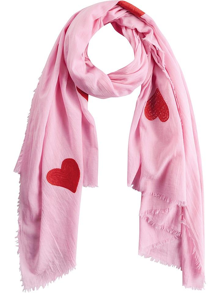 11b85f115e55af Codello Baumwoll-Schal in Pink - (L)180 x (B)100 cm günstig kaufen ...